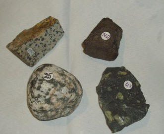 mineraler och bergarter